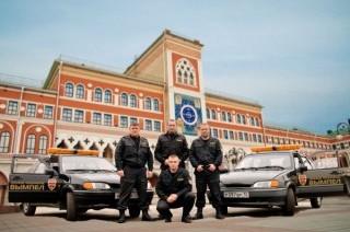 Экипажи ГБР пультовой охраны